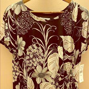 NWT side ruched sheath dress